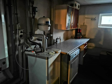 Heizraum im Keller