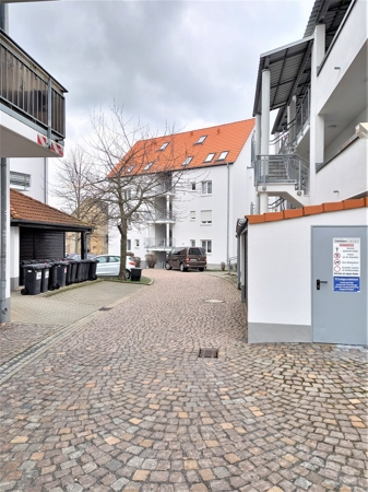 Blick zum Haus 3