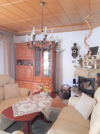 Wohnzimmer mit Kamin 2